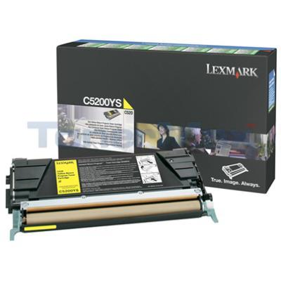 LEXMARK C520 C530 TONER CARTRIDGE YELLOW RP